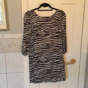 My Story zebra print dress